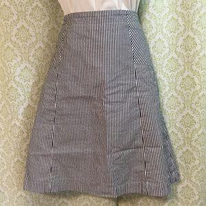 Talbots Petites striped skirt